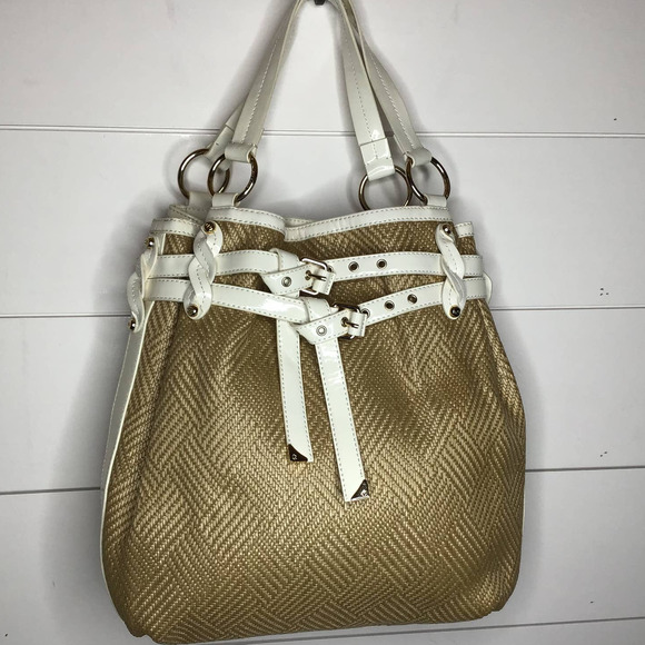 Francesca Biasia Woven Bag Purse